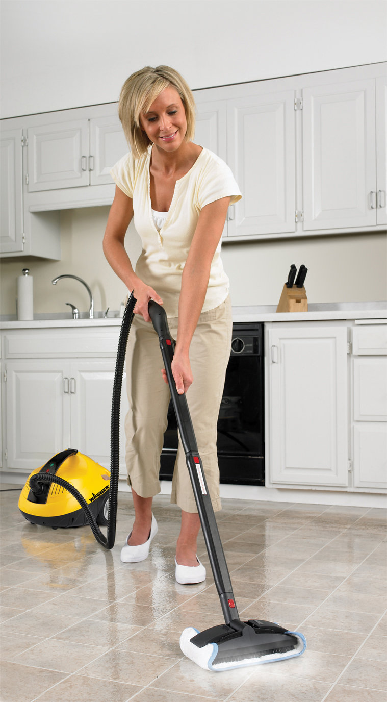 Wagner 0282014 1 500 watt on demand power steamer and for How to clean a garage floor without water