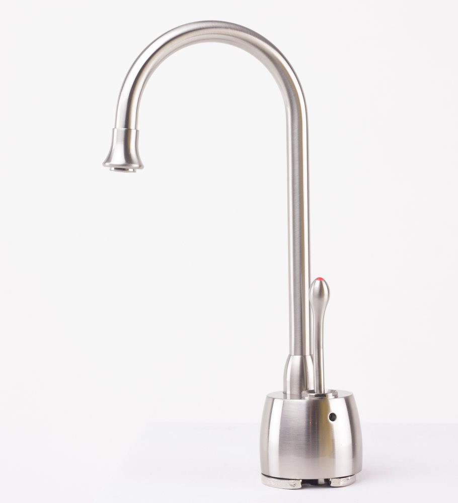 Water Faucet : ... Water Dispenser Faucet & Tank - Satin Nickel - Hot Water Only