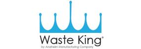 wasteking blue logo