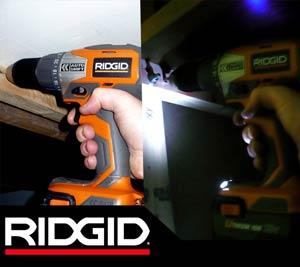 Ridgid R86007 18V Compact Lithium Ion Drill