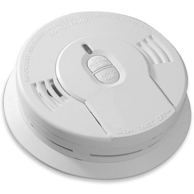 kidde i9010 10 year sealed lithium battery operated smoke alarm with memory and. Black Bedroom Furniture Sets. Home Design Ideas
