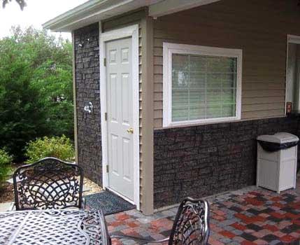 Faux Stacked Stone Brick Texas Home Exteriors Exterior Stone ...