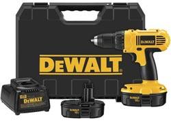 DeWalt DC759KA 18-Volt 1/2-Inch Cordless Compact Drill/Driver Kit