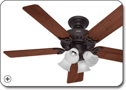 Hunter 25587 Studio Series Ceiling Fan