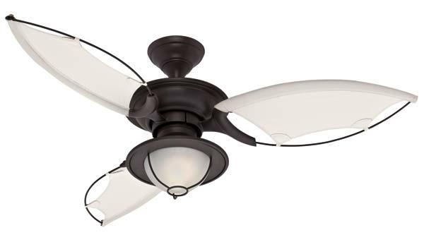 Details about Hunter 25522 54-Inch Sanibel Ceiling Fan , New Bronze