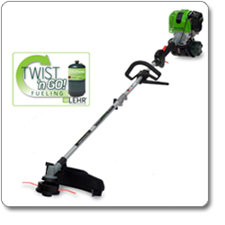 LEHR ST025DSPropane-Powered Eco Trimmer with Detachable Straight Shaft