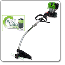 LEHR ST025DCPropane-Powered Eco Trimmer with Detachable Curved Shaft