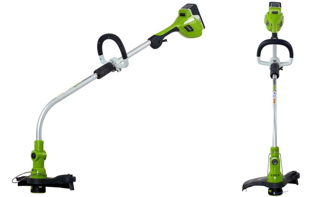 Greenworks 21602 12-Inch, 20-Volt, 6-Ah Lithium-Ion String Trimmer
