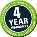 4 YR Warranty