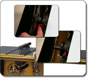 arbor lock system