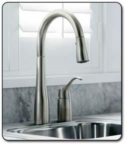 Simplice kitchen faucet