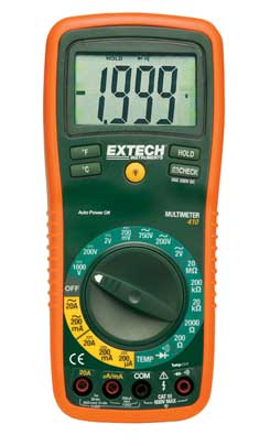 Extech EX410 8 Function Professional MultiMeter