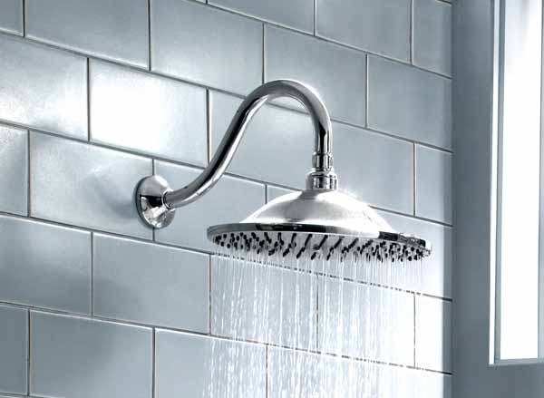 American Standard 10 Inch Rain Easy Clean Showerhead Polished Ch