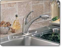 Delta Signature Single-Handle Pull-Out Kitchen Faucet with Diamond Seal Technology