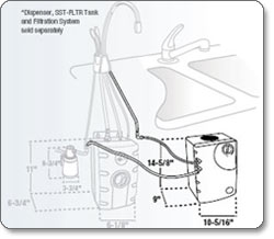 Insinkerator CWT-00 Installation diagram
