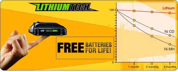 Free Batteries For Life