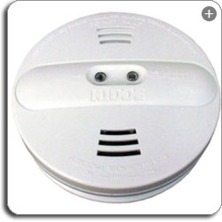 KIDDE B0007G71U4 1 sm Kidde PI2010 Smoke Alarm Dual Sensor with Battery Backup, White