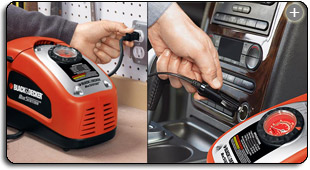 Black & Decker ASI300 – The Best Portable Compressor