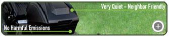 Solaris Cordless Lawn Mower