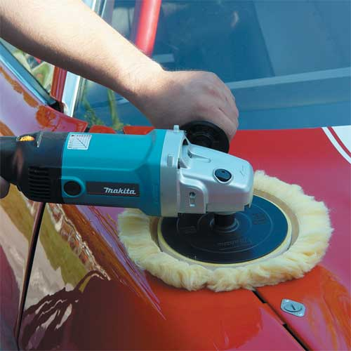 Makita 9227CX3 7-Inch Hook and Loop Electronic Polisher-Sander with