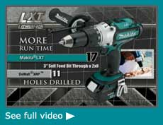 makita lxt video2 Cheap Makita BTD144 18 Volt LXT Lithium Ion Cordless Impact Driver