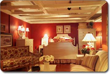 Living Spaces Bedroom