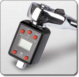 Powerbuilt Digital Torque Adapter with Driver