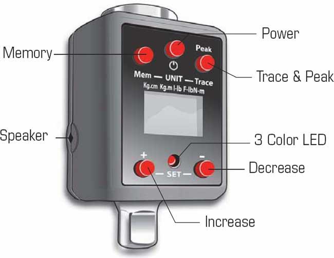 Powerbuilt Digital Torque Adapter