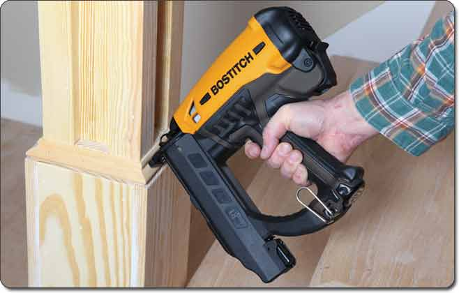 GBT1850K Straight Finish Nailer - Over-Molded Grip