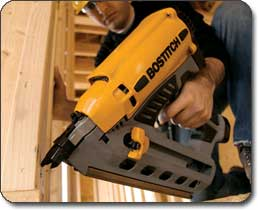 GF28WW Framing Nailer - Over-molded rubber grip