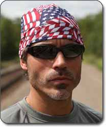 Stars and Stripes - Skull Cap