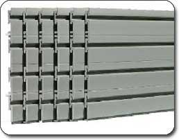 Silver Wall Panels