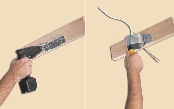 Westinghouse Lighting 0125011 Sidemount Plus Fan Box, 1-1/2 Inch Deep, Bulk Packed - Ceiling ...