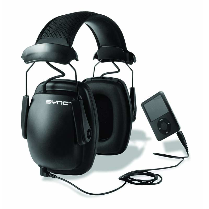 Howard Leight 1030110 Sync Noise-Blocking Stereo Earmuff - Safety Ear