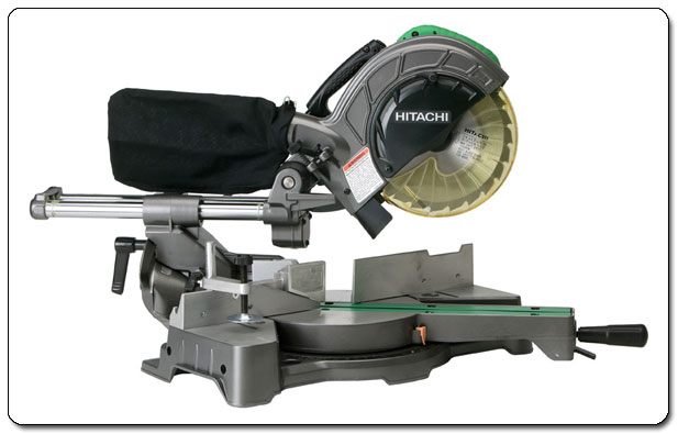 Weighing a mere 31 pounds, the miter saw is the most portable tool in