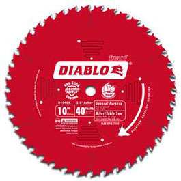 freud B00008WQ2W 1 lg Freud D1040A Diablo 10 Inch 40 Tooth ATB General