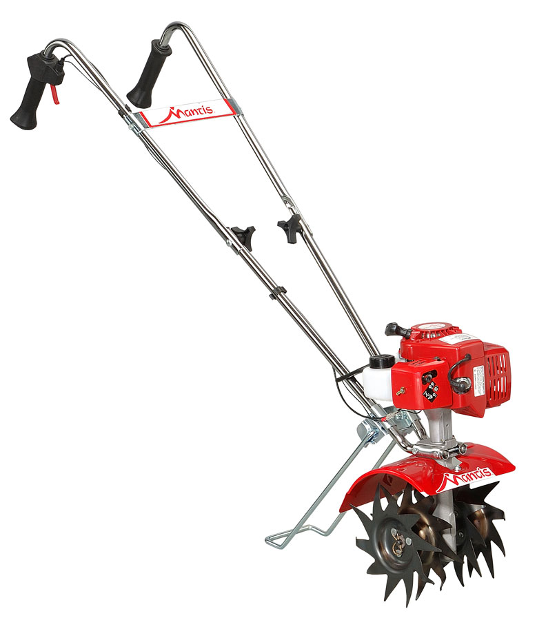 Amazon.com : Mantis 7225-15-02 2-Cycle Gas-Powered Tiller/Cultivator