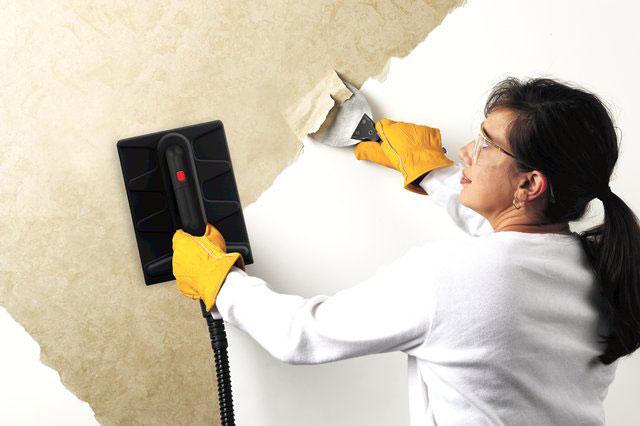 steam wallpaper remover b&q