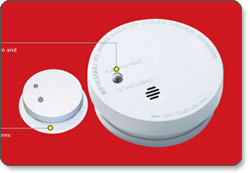 i9040 Fire Sentry Compact Smoke and Fire Alarm
