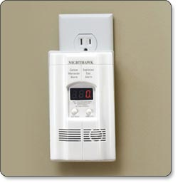 Kidde KN-COEG-3 Nighthawk Carbon Monoxide and Explosive Gas Alarm