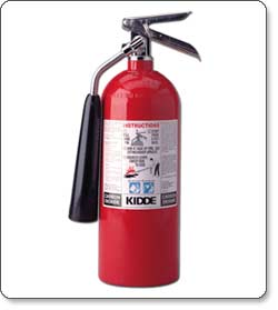 Kidde 466180 Pro 5 CD Fire Extinguisher