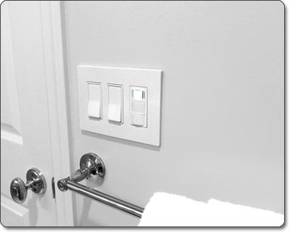 DewStop Condensation Sentry Fan Switch, White