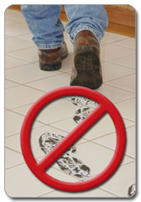 Avoid a mess with Tidy Trax Shoe Covers