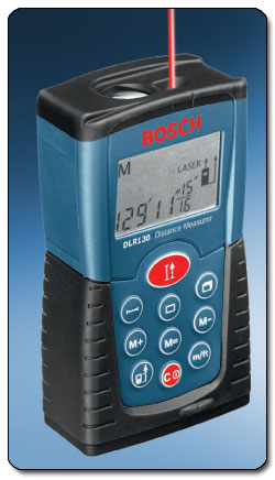 c26 BOSCH B001U89QBU 3 sm Bosch DLR130K Digital Distance Measurer Kit