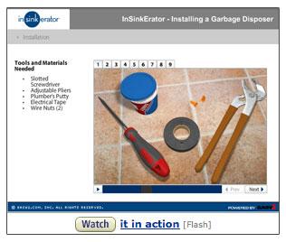 c26 INSINK B002TLSQO0 2 sm InSinkErator Badger 1,  1/3 HP Household Food Waste Disposer