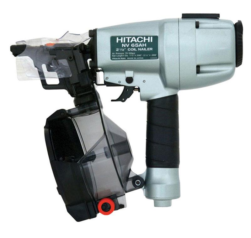 Hitachi Nv65ah 2 1 2 Inch Coil Siding Nailer Power