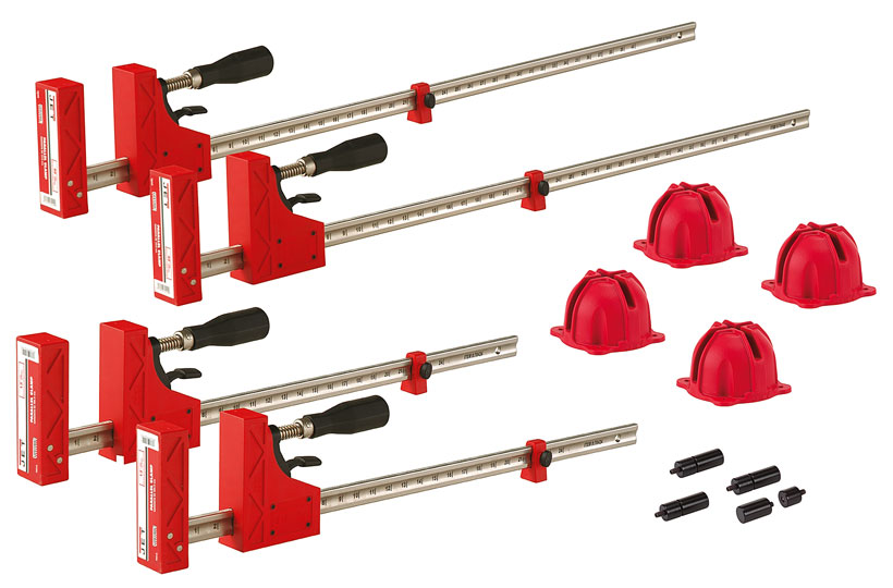 Jet 70411 Parallel Clamp Cabinet Door Set Bar Clamps