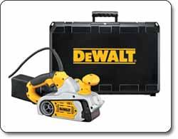 DEWALT Variable Speed 3 inch by 21 inch Belt Sander Kit