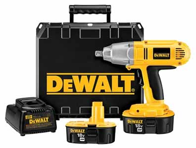 DW059K-2 DEWALT 18-Volt Cordless XRP Impact Wrench