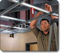 Acoustical Drop Ceiling